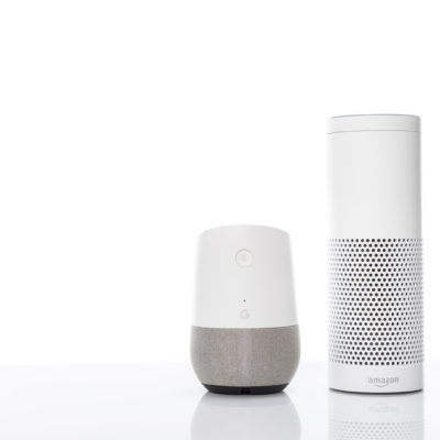 GooglehomeとAmazon echoを比較