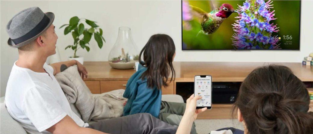 Googlehome テレビ 設定