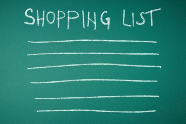 アレクサの買い物リストを利用しよう